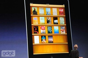 iBooks on the iPad