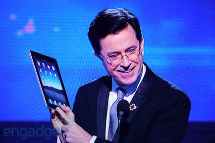 iPad at Grammy awards