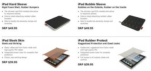 Hard Candy iPad cases