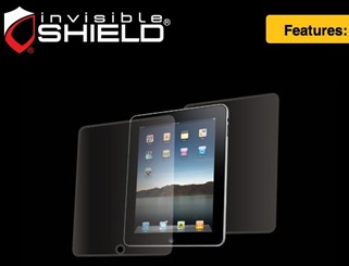 Zagg invisibleSHIELD for iPad