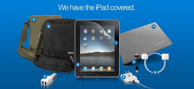 RadTech iPad accessories