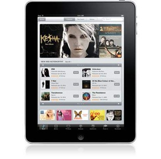 iTunes app on iPad