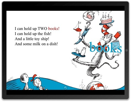 Cat in the Hat on iPad