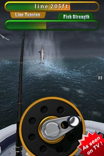 Flick Fishing iPhone app