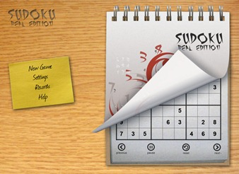 Sudoko Real Edition for iPad