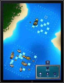 Warships - Sea on Fire iPad app