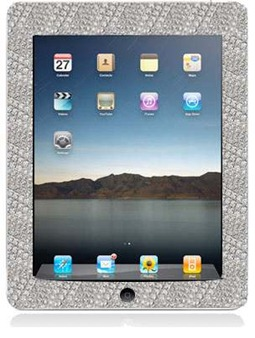 diamond studded iPad