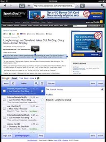 Double Up iPad browser
