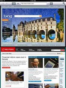 Double Up iPad browser app