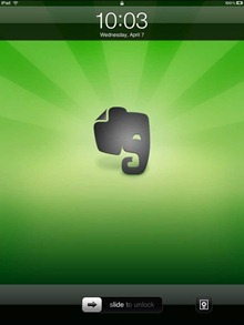 Evernote iPad Wallpaper