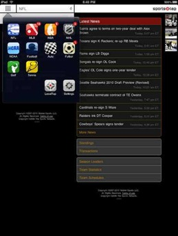 SportsTap for iPad