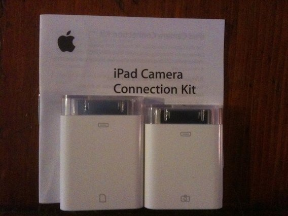 iPad Camera Connection Kit – Importing Photos from an iPhone ...