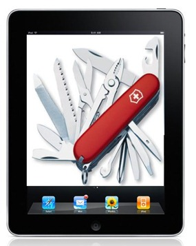 iPad Swiss Army Knife