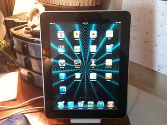 iPad on Dock