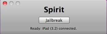 Spirit jailbreak for iPad