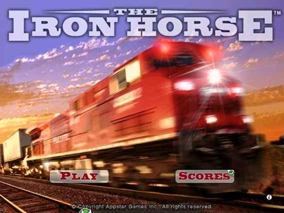 The Iron Horse iPad game