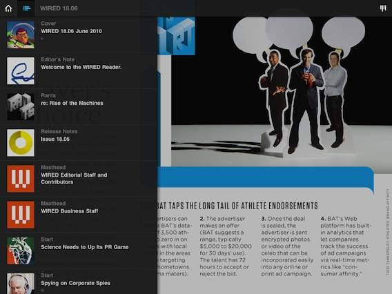 Review: Wired Magazine for iPad | iPad Insight