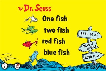 One Fish, Two Fish, Red Fish, Blue Fish for iPad