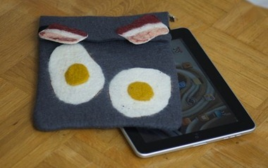 Bacon and Egg iPad case