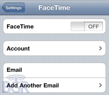 Face Time for iPad