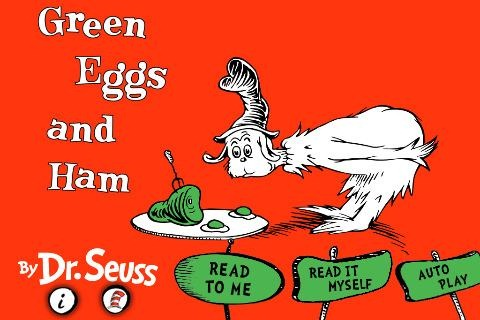 Green Eggs and Ham Is Latest Dr. Seuss Classic to Hit the iPad