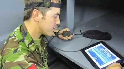 iPad in use in UK Army