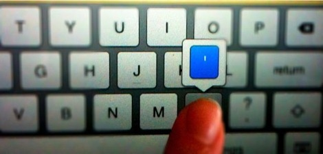 how to insert an apostrophe on iPad keyboard