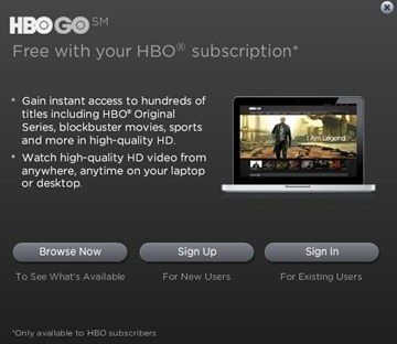 HBO Go coming to the iPad