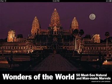 Life Wonders of the World iPad app