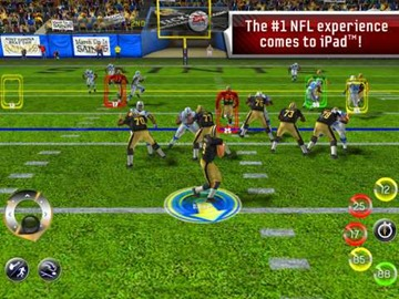 Madden NFL 11 iPad game