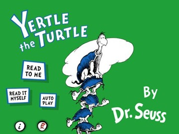 Yertle The Turtle iPad eBook app