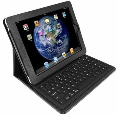 iPad Case with integrated BT keyboard