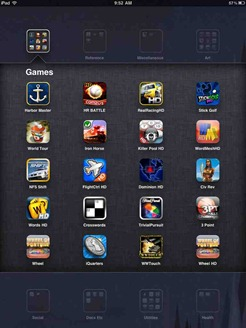 20 apps allowed in folders on iPad