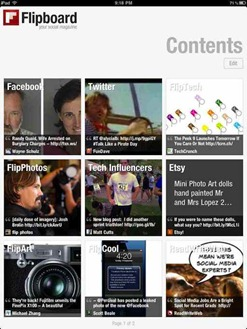 Flipboard iPad social news app