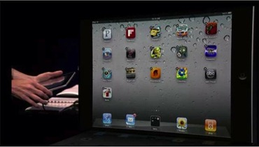 Folders for iPad in iOS 4.2