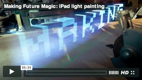 Making Future Magic_ light painting with the iPad – Blog – BERG