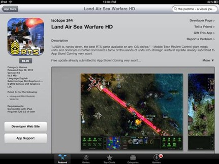 Land Air Sea Warfare HD