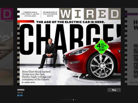 Wired Magazine for iPad