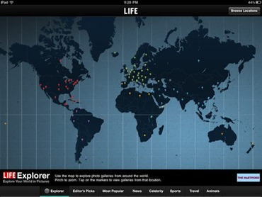 LIFE for iPad app