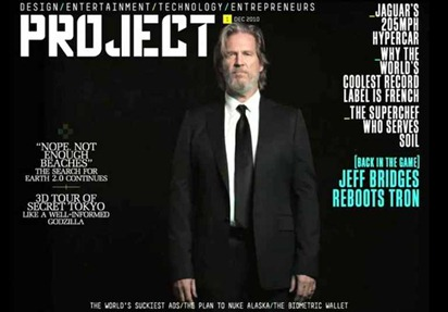 Richard Branson's Project magzine for iPad