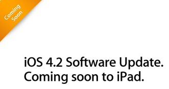 iOS 4.2 for iPad