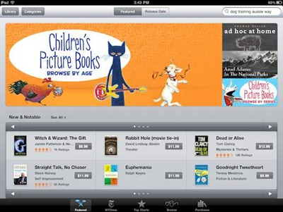 Children's Picture Books in iBookstore