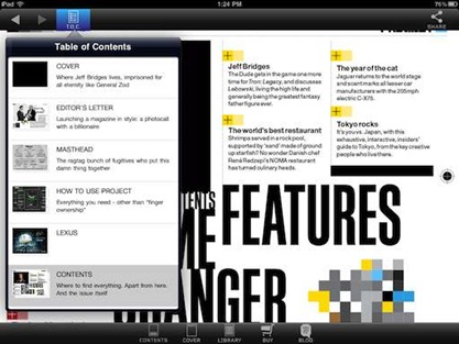 Project Magazine for iPad
