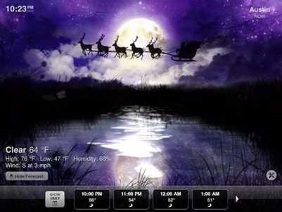 Weather HD Christmas Edition