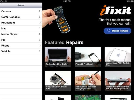 Download ifixit: repair manual (windows 8) (free) for windows.