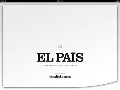 El Pais for iPad