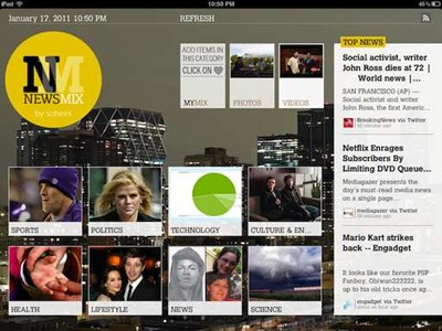NewsMix for iPad