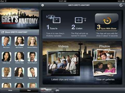 Grey's Anatomy Sync for iPad