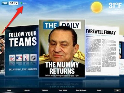 The Daily iPad-only newspaper
