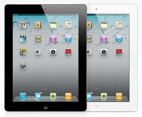 Black and White iPad 2 models